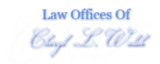 Law Offices of Attorney Cheryl Walsh Sticky Logo