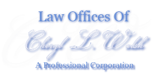 Law Offices of Attorney Cheryl Walsh Logo